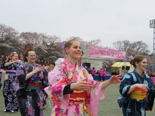 塩田堤の桜