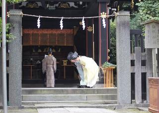 白旗神社 文墨祭
