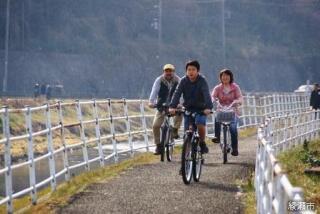 目久尻川サイクリングロード