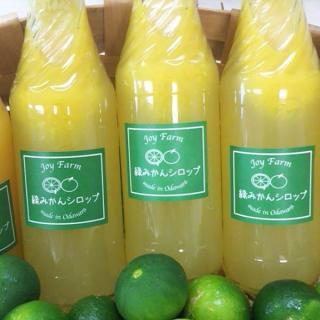 綠(準確)橘子糖漿