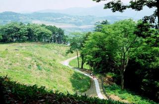 河村城址・洒水の滝ハイキングコース