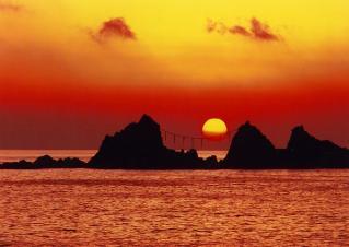 The Mitsuishi shore