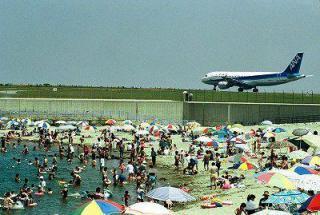 山の下船江町浜 海水浴場