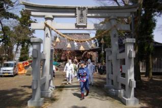 中条日枝神社春秋祭禮御神輿神事