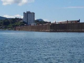 柏崎港西防波堤管理釣り場