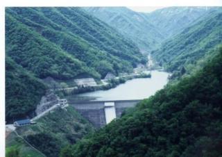 谷根ダム(米山湖)