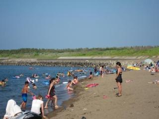 柏崎中央海水浴場