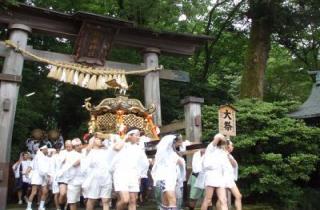 長瀬神社春季祭礼(上条まつり)