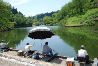 下条川ダム【釣り場】