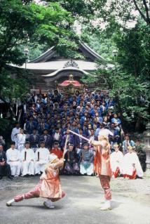 【2021年は神事のみ】関山神社火祭り