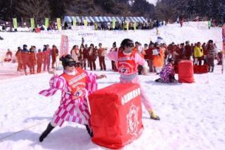 魚沼国際雪合戦大会