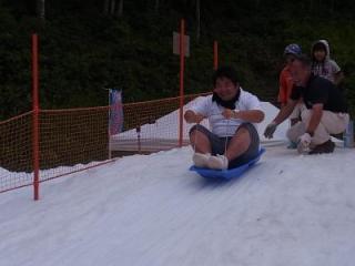 Summer Snow Festival 夏の天空雪まつり in八海山