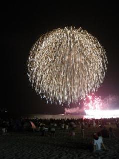 聖籠夏まつり海上大花火大会