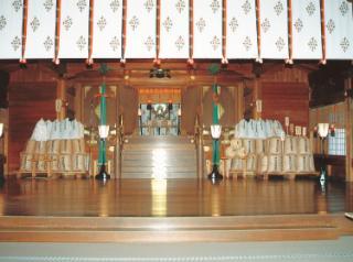 弥彦神社「御日供祭」