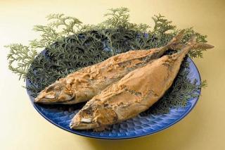 鯖のへしこ