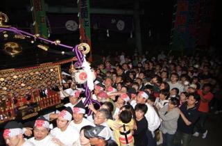 山中明神例大祭「安産祭」