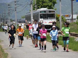 【開催延期】第12回 別所線と走ろう、歩こう!!ラン&ウォーク
