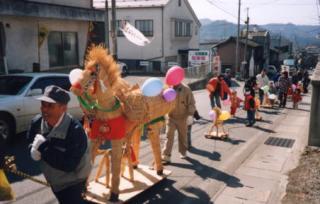 小諸わら馬パレード