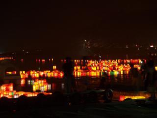 【2020年中止】木崎湖花火大会と灯籠流し