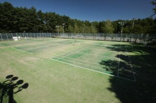 信州大芝高原 テニスコート