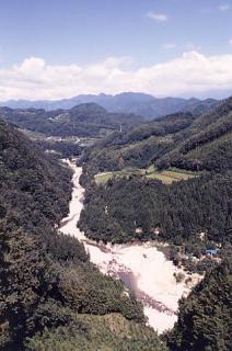 和知野川渓谷