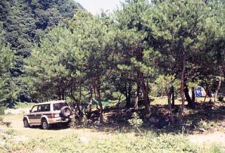 二瀬キャンプ場