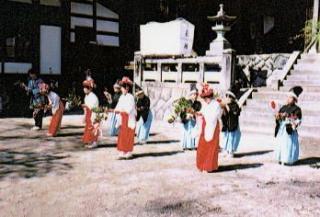 下清内路諏訪神社神楽ばやし