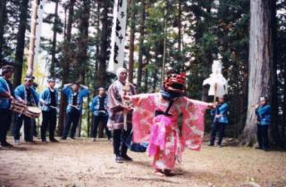 与川白山神社祭礼-秋-