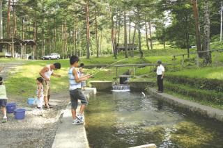 こだまの森渓流釣
