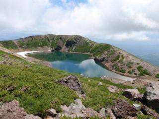 御嶽山三の池