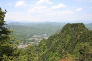 京ヶ倉・大城登山道 下生坂登山口