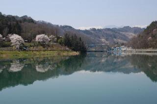東京電力生坂ダム湖