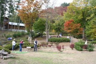生坂村高津屋森林公園マレットゴルフ場