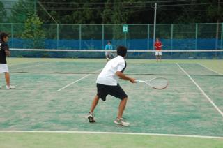 朝日村テニスコート