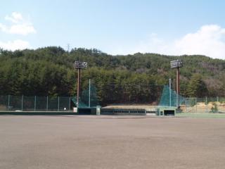 やすらぎスポーツ広場野球場