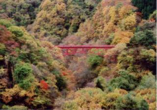 松川渓谷紅葉まつり