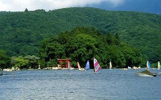 野尻湖湖水開き