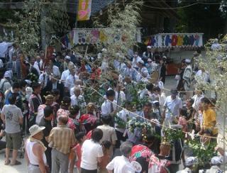 榊山神社例大祭(叩き祭り)