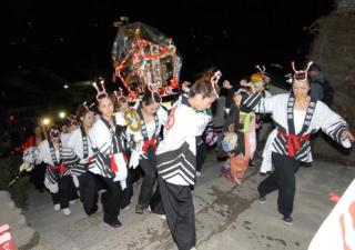 Hida-Kamioka Konpira Night Festival