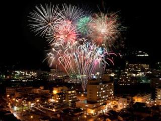 Gero Onsen Fireworks Musical, Winter