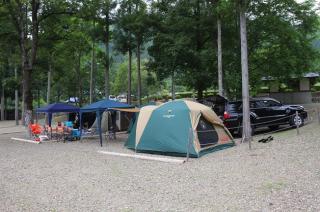 美濃白川クオーレの里 オートキャンプサイト(キャンプエリア内)