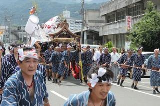 阿治古神社鹿島踊