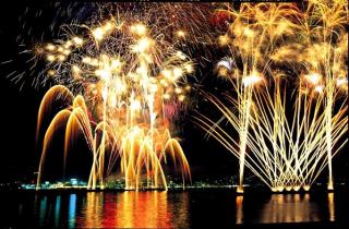 按針祭 海の花火大会
