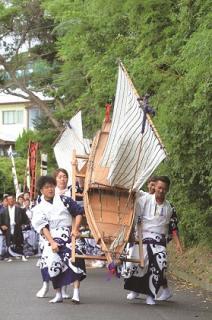 御船神事(大江地区)