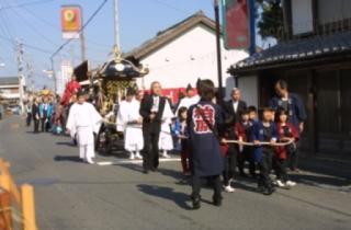 服織田神社祭典