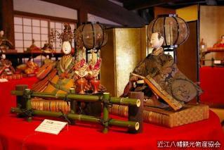 近江八幡節日玩偶巡遊