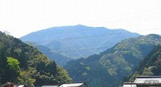 Mt. Ryouzen (Maibara-shi side starting point of a mountain climb)