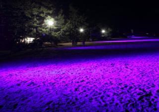 天橋立海灘點燈