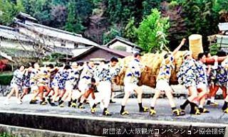 春祭歩射神事 (大蛇祭)