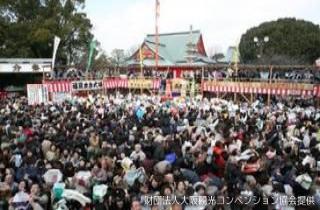 成田山不動尊の節分祭